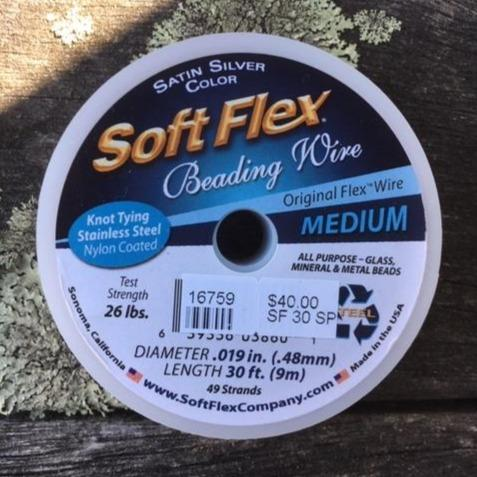 Soft Flex Beading Wire, Medium, 30 ft.