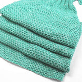 Knitted Baby Mermaid Tail Blanket