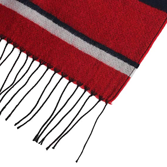 Fringe Plaid Shawl Scarf