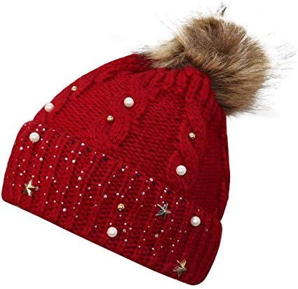 Winter Knitted Crochet Hats
