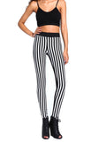 Front Striped Leggings