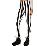 Wide Striped Leggings