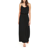 Sleeveless Loose Plain Cami Maxi Dress