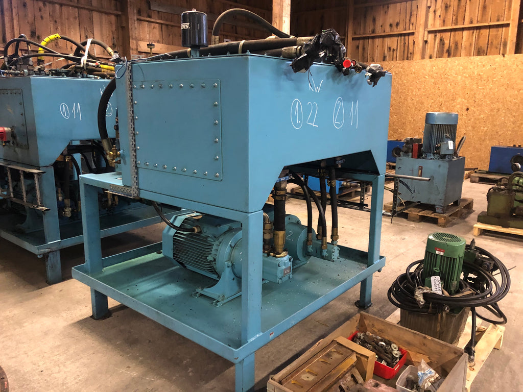 Used Hydraulic station INAB - Swedabo