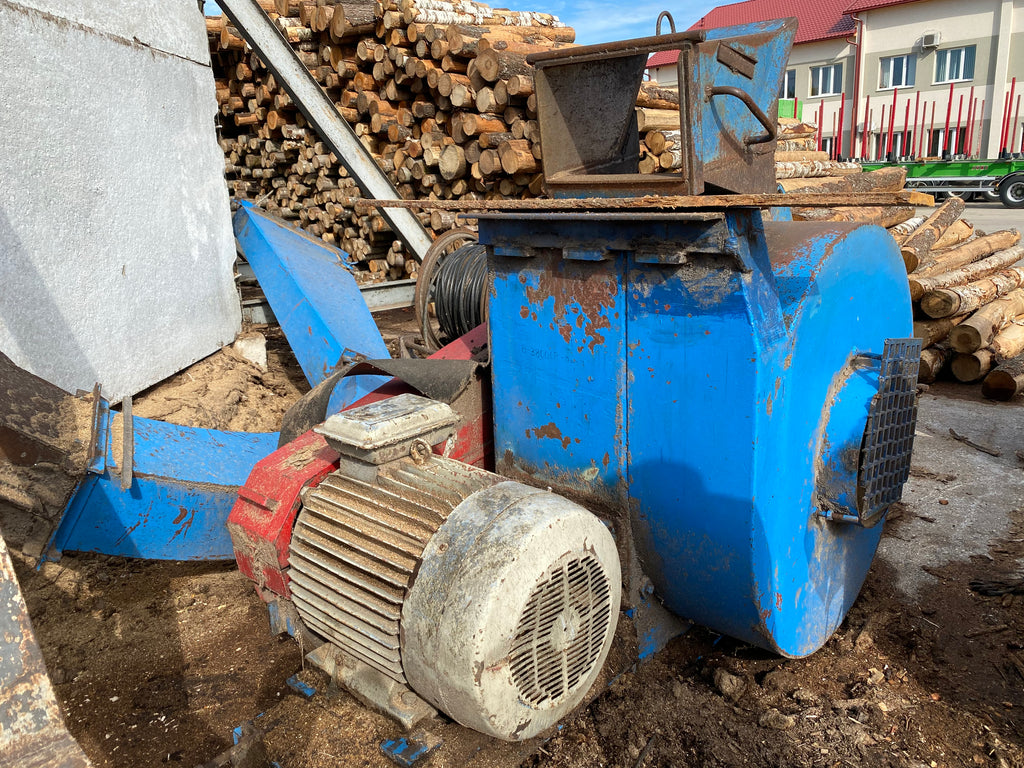 Drum Chipper Erjo 608 MA - Swedabo