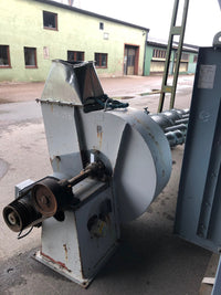 Industrial suction fan