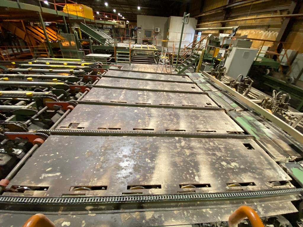 Board Edging line 300 m/min - Swedabo