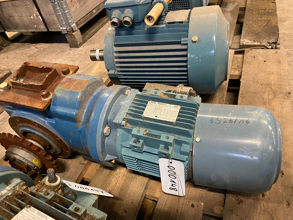 Electric motor with reducer 1,5 kW - Swedabo