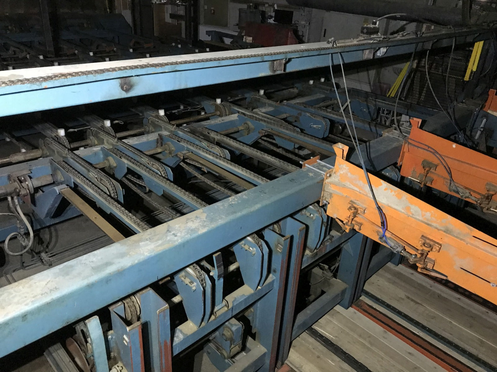 Complete board stacking line - Swedabo