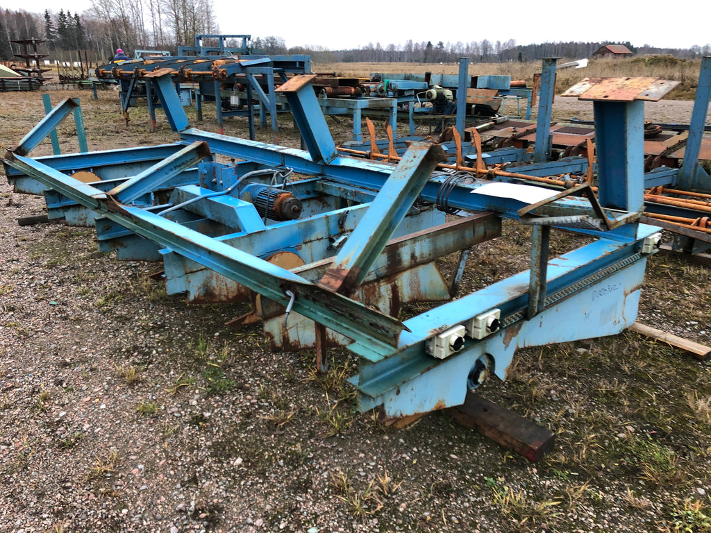 Used log conveyor - Swedabo