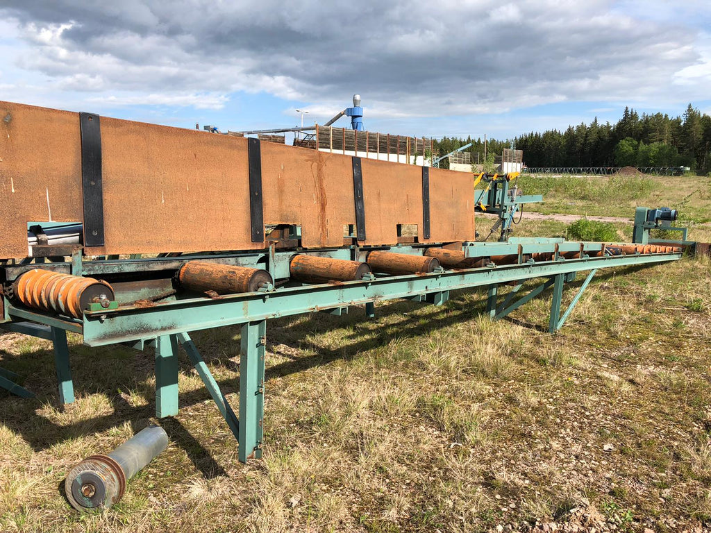 Used roller conveyor for boards - Swedabo