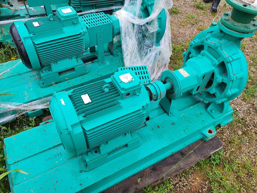 Used water pump with electric motor 22 kW - Swedabo