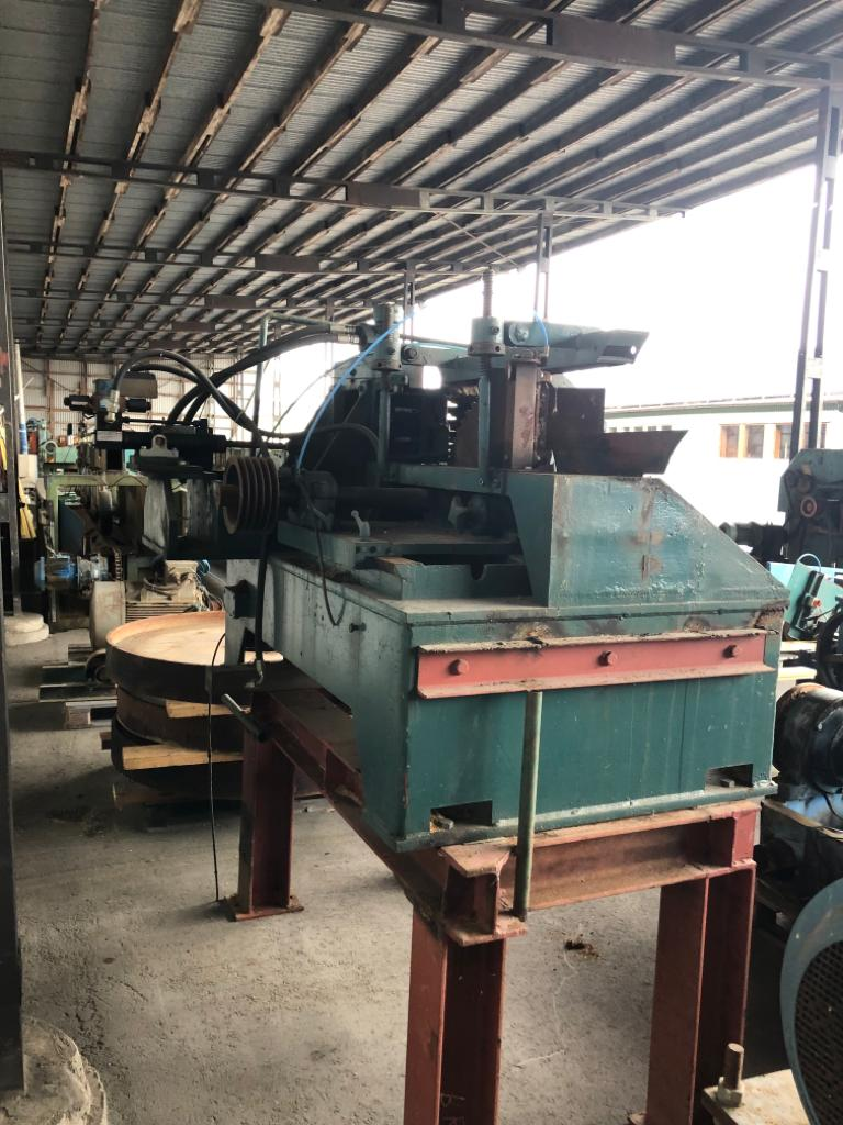 Used resaw for sale ARI KL10 circular saw with conveyor - Swedabo
