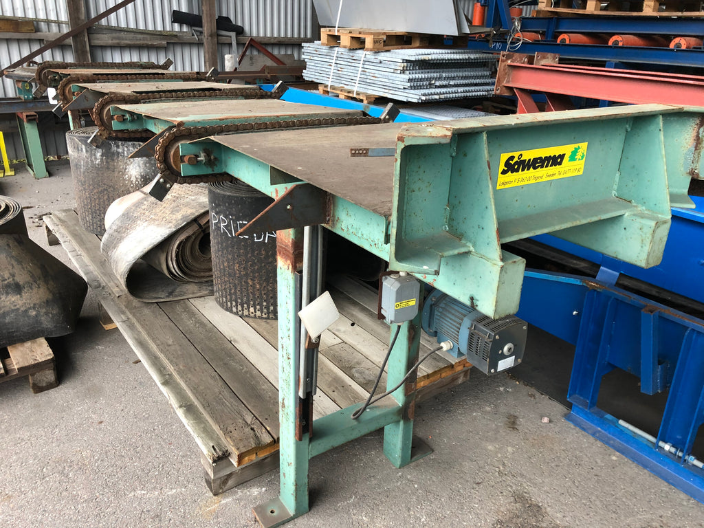 Used cross conveyor - Swedabo