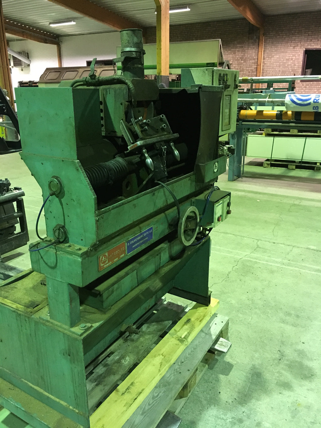 Used grinder for chipper knives - Swedabo