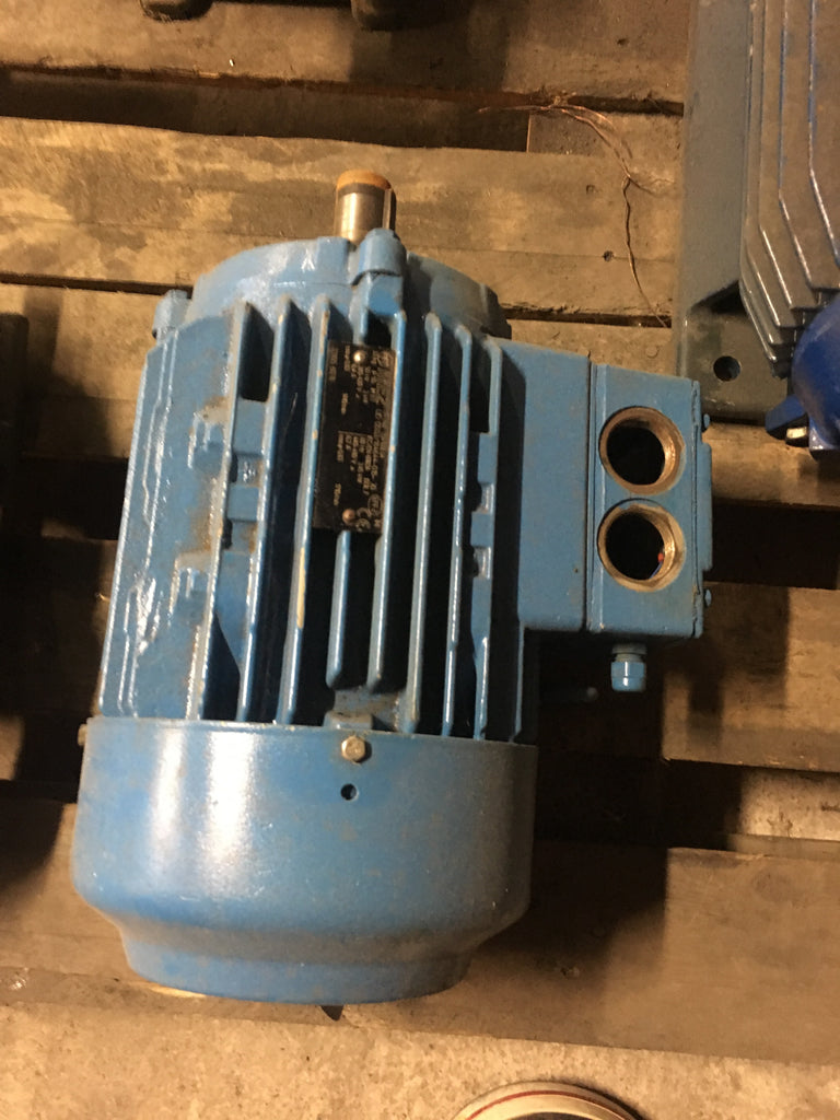 Used electric motor 3 kW 1410 r/m - Swedabo