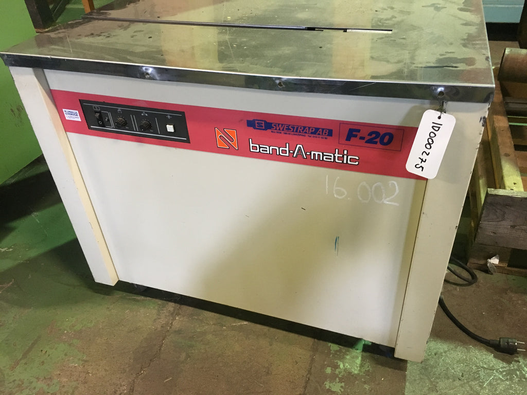Used mobile strapping machine - Swedabo