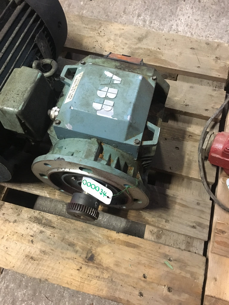 Used electric motor 4 kW 1435 r/m - Swedabo
