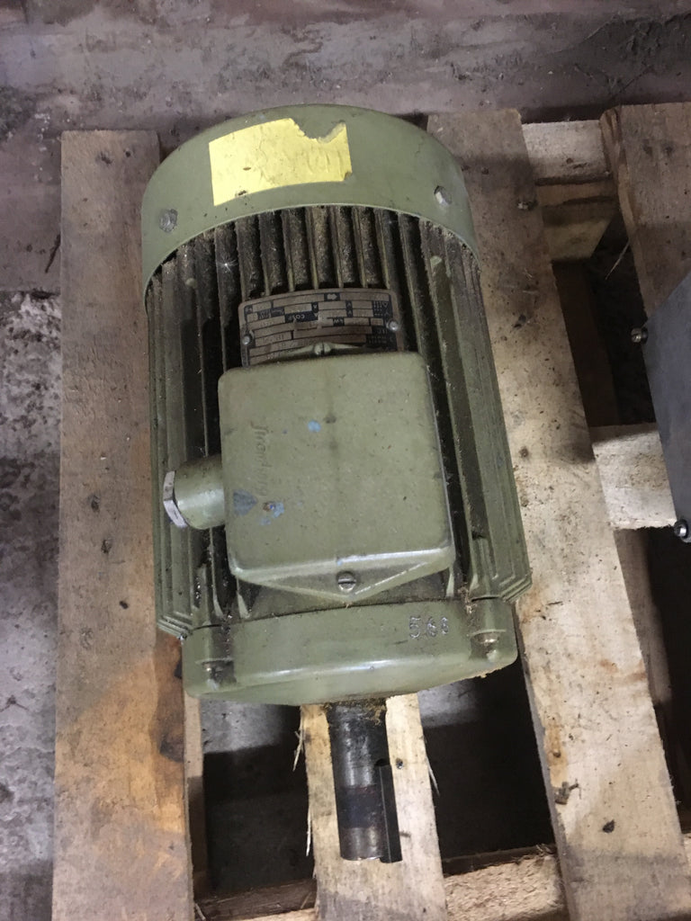 Used electric motor 4 kW 1420 r/m - Swedabo