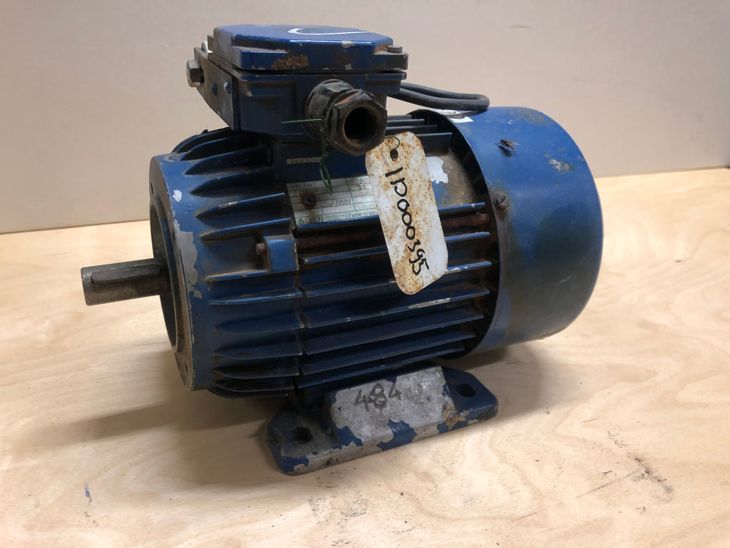 Used electric motor 0,5 kW - Swedabo