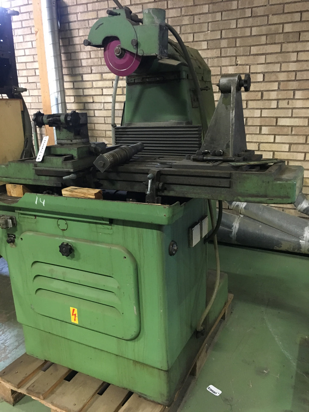 Used rip saw sharpener Stehle Smml - Swedabo