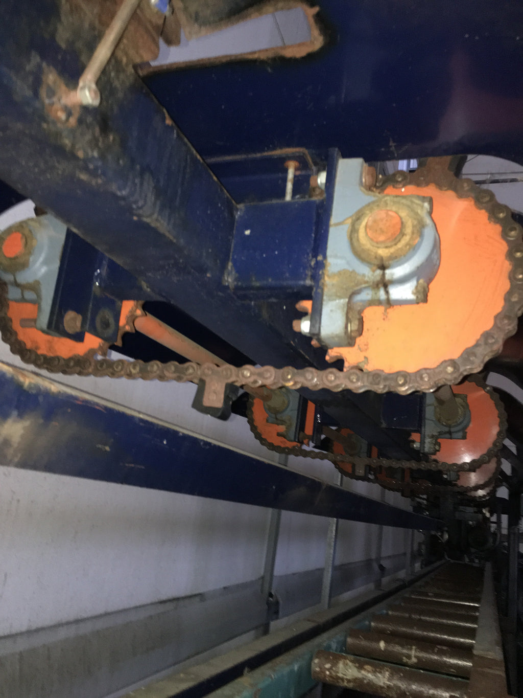 Used chain conveyor - Swedabo