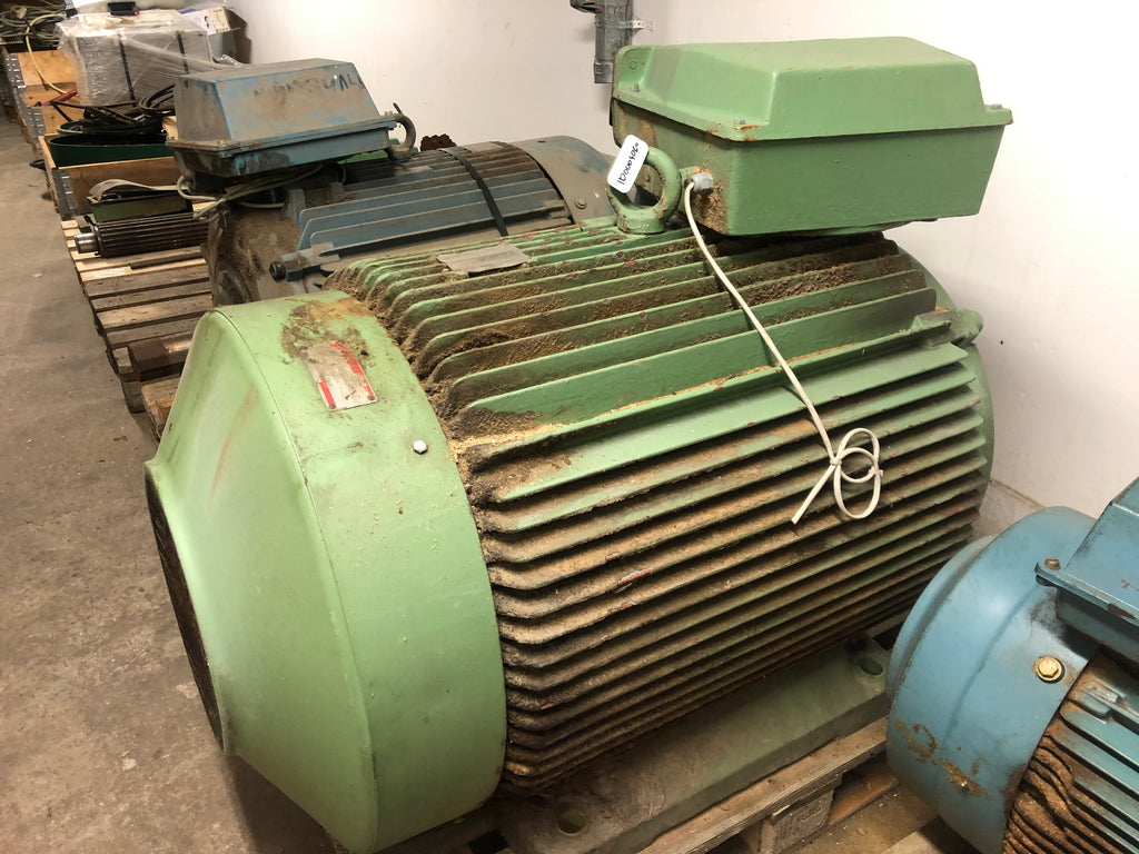 Used electric motor 200 kW - Swedabo