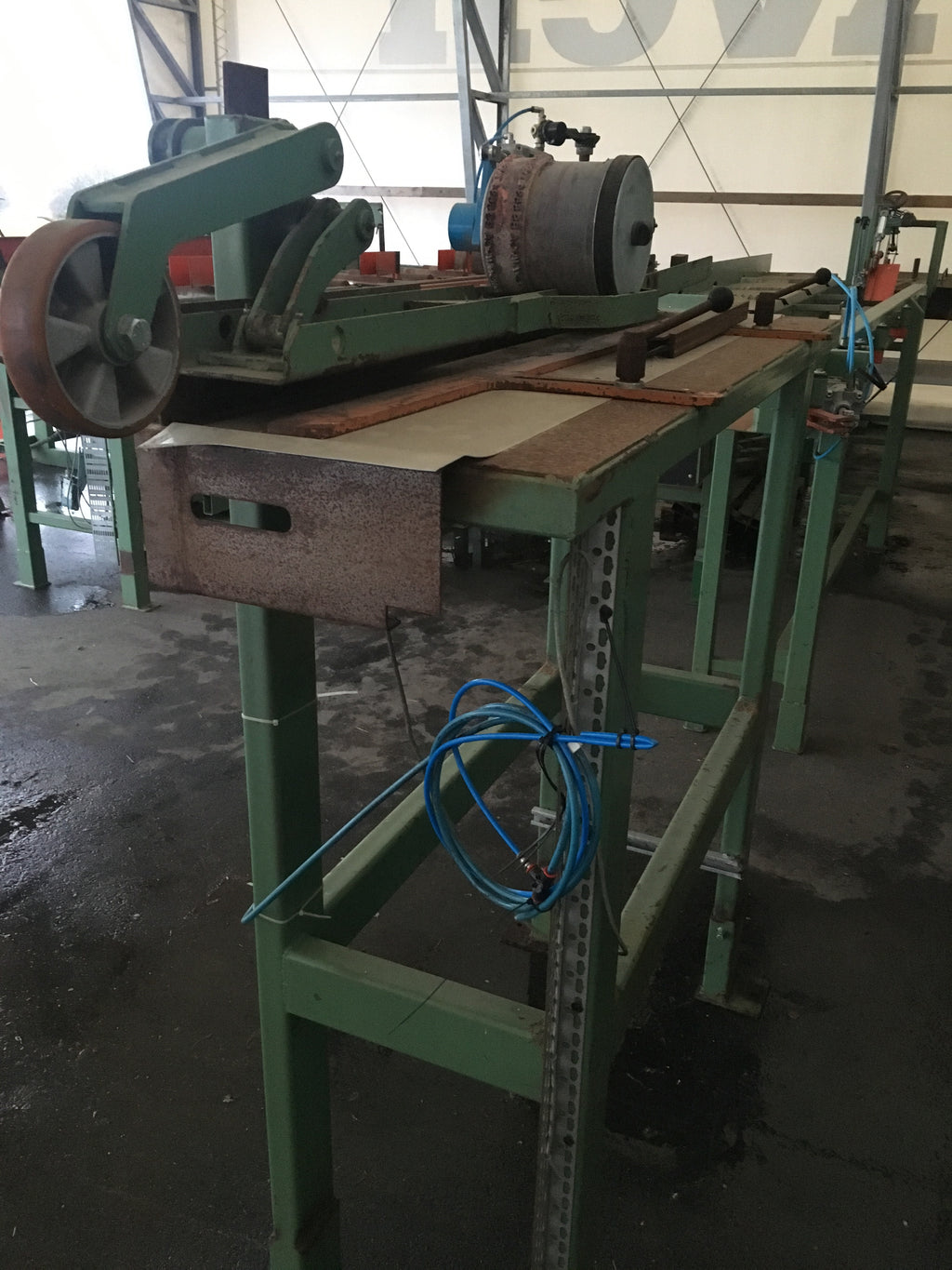 Stamp machine after planer - Swedabo