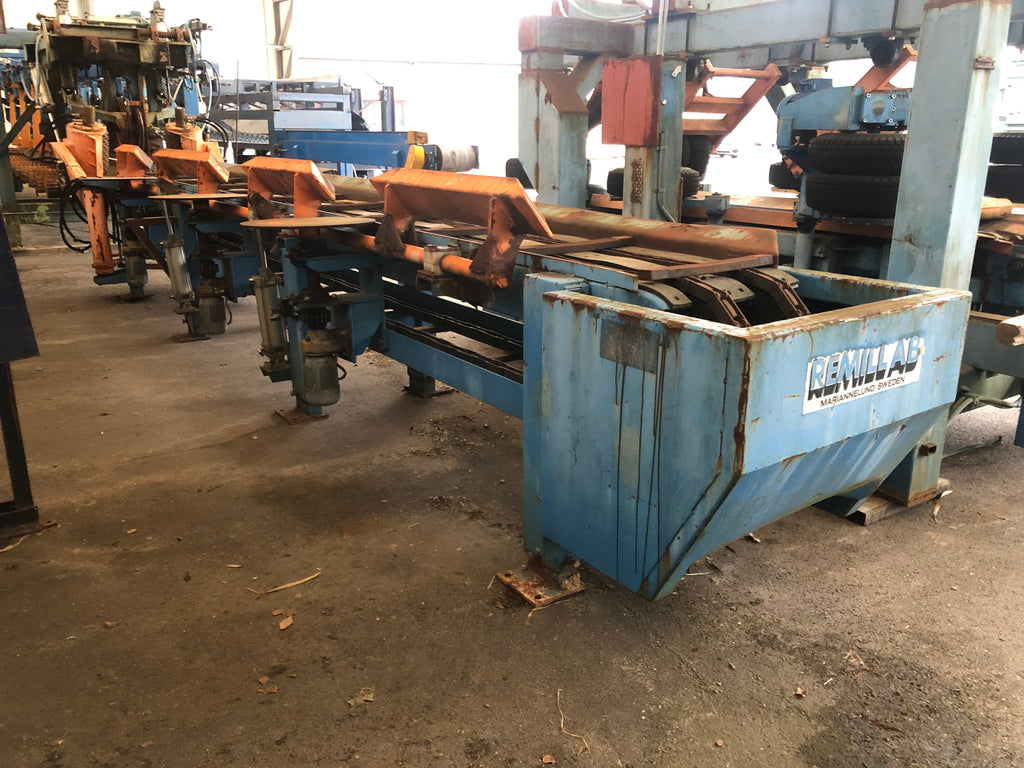 Used log block conveyor Remill AB - Swedabo