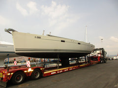 Yacht delivery Hanse 470e