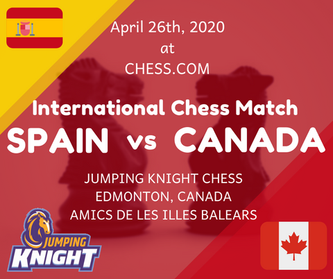 Canada Spain Chess Match