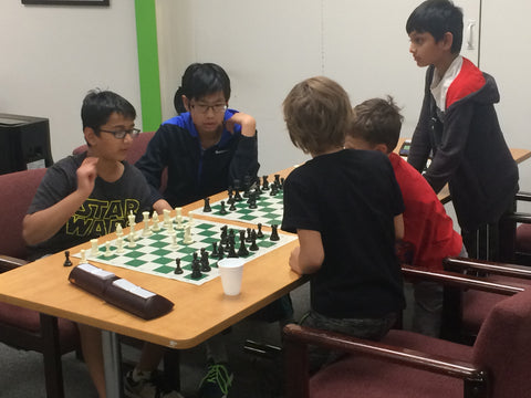 Agnieszka Matras-Clement. Summer Edmonton Chess Camp