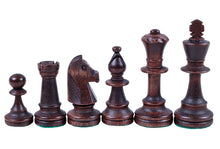 Load image into Gallery viewer, Jumping Knight Chess Store. Staunton chess pieces.