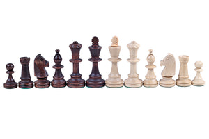 Jumping Knight Chess Store. Staunton chess pieces.