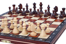 Load image into Gallery viewer, Jumping Knight Chess Store. Magnetic Travel Chess Set.