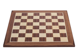 Jumping Knight Chess Store. Walnut-Maple Chess Board.