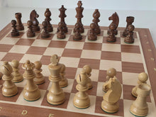 Load image into Gallery viewer, Jumping Knight Chess Store. Timeless chess set with chess board.