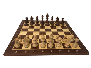 Timeless Chess Set on Mahogany-Maple Board, FREE SHIPPING in Canada