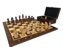Load image into Gallery viewer, Timeless Chess Set on Mahogany-Maple Board, FREE SHIPPING in Canada