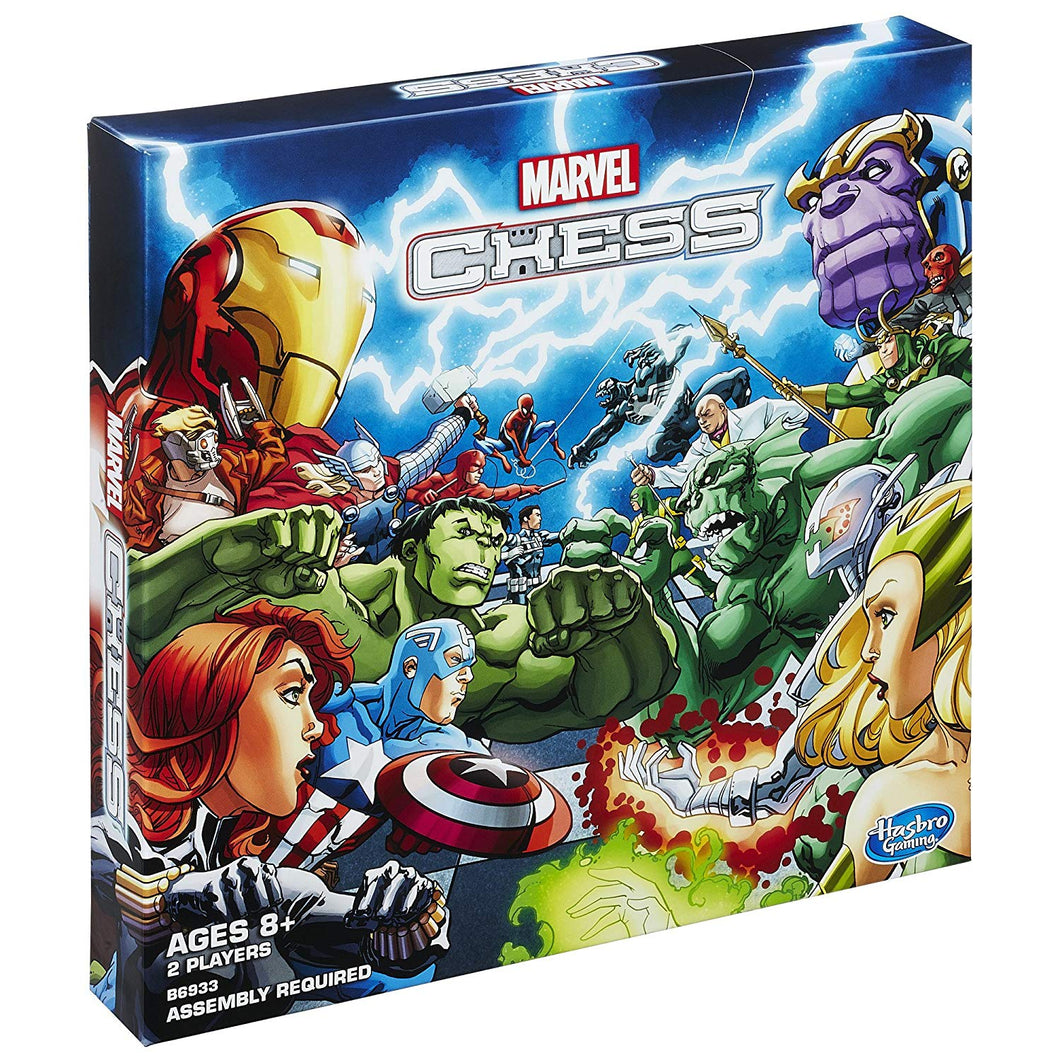 Jumping Knight Chess Store. Marvel Chess Set for kids.