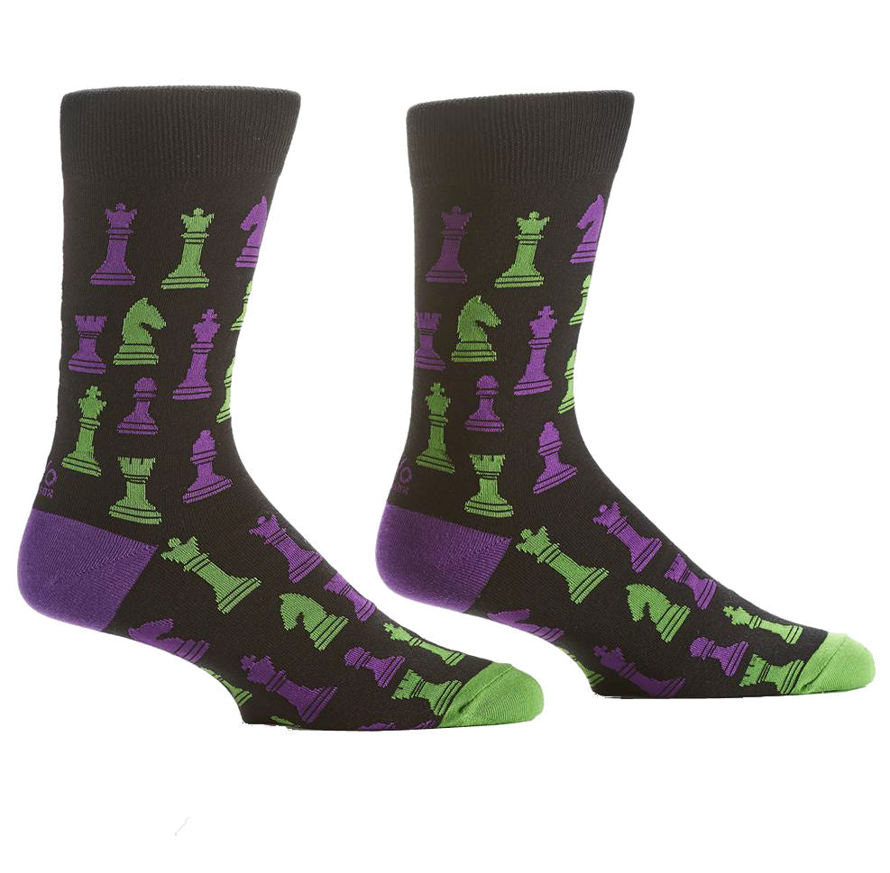 Chess Socks. Jumping Knight Chess Store