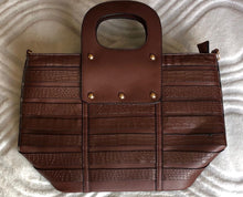 Womens Handbag tote Purse 15''x15''x6'' Beautiful Coffee color