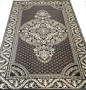 6'x9' Reversible indoor Outdoor Rug Patio RV Camping Mat 164