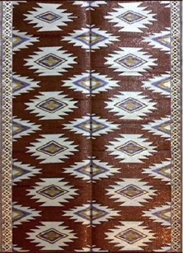 6'x9' indoor outdoor patio rugs mats camping picnic mats 4460