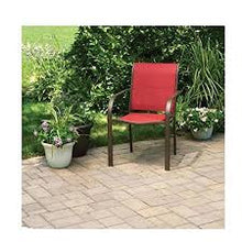 Sling Chairs Indoor Outdoor Camping Chairs Garden Patio Pool Beach Yard Recliners Lounge Chairs - Pack of 4