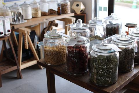 nue by Totoya zerowaste store in Japan