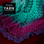 Scheepjes Pattern: YARN The After Party no. 49 Valyria Shawl by Johanna Lindahl