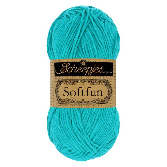 Scheepjes Soft Fun - 2423 Bright Turquoise