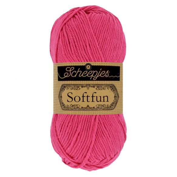 Scheepjes Soft Fun - 2495 Hot Pink