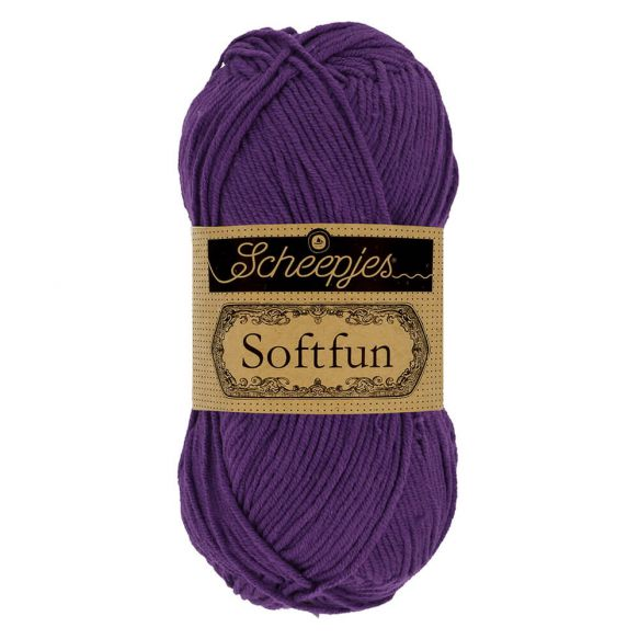 Scheepjes Soft Fun - 2515 Deep Violet